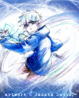 RotG : Jack Frost being all cool by DarkHalo4321