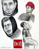 The Graceful Ethan (h3h3) by RavenDANIELS