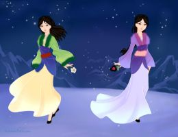 Mulan- Lullaby and Soliloquy by Black07911