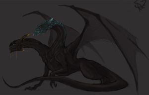 Jakiro, the Twin Head Dragon by Halycon450