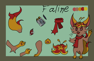 Faline by MissFluffyKitty