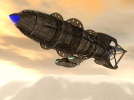 Concept Airship by shelbs2