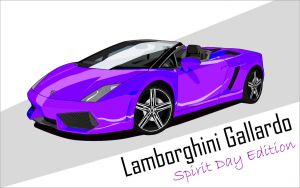 Lamborghini - Spirit Day by RaafjeGX