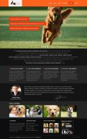 Dog Training Website by AlsusArt