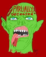 Partially Deceased Logo by SephirothMichaelis