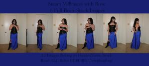 Steam Villianess and Rose Pack by HiddenYume-stock