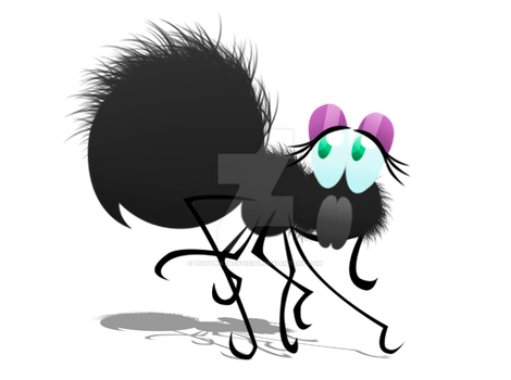 Cute Spider... nuff said by PivotNazaOfficial