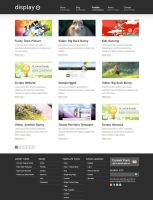 Display Wordpress Theme by allken
