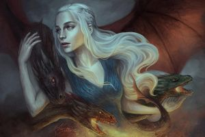 Mother of Dragons by jasric