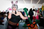 League of Legends  -  Riven (Battle Bunny skin) by Ryogak