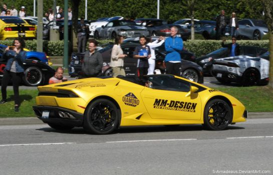 Huracan Roadster by S-Amadeaus