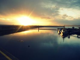at the breakwater by seliebelie