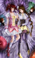 Mao and Vyst Magica by xilveroxas