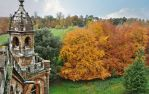 A View Of Autumn From The Gothic Temple by Estruda