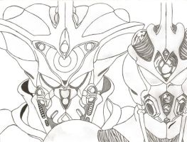 Gigantic Guyver 1 by DMC-Guyver