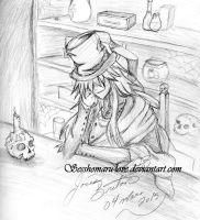 Fall a sleep mortician by Sesshomaru-love