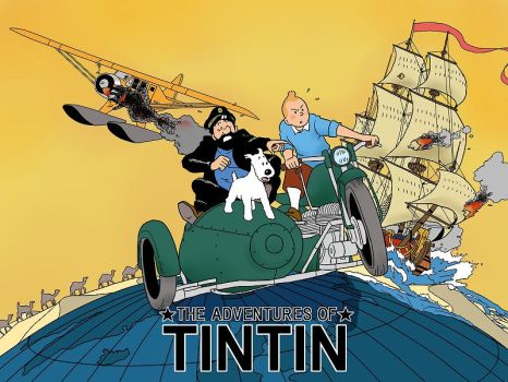 The Adventures  of TINTIN by Keinoji
