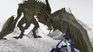 MMD Newcomer Grandmaster Paarthurnax + DL by Valforwing