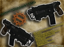 "10mm ""Oldstock"" SMG by Josh1knight"