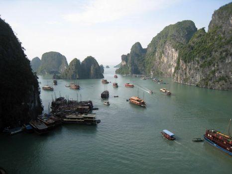 Halong Bay 2 by DrWyvern