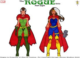 Rogue Series: Part Eight by SavageMouse