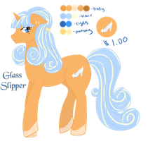 MLP: Glass Slipper Adopt OPEN by IchigoBunny