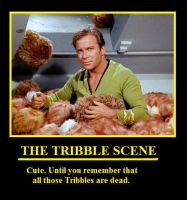 The Tribble Scene by youliedanyway