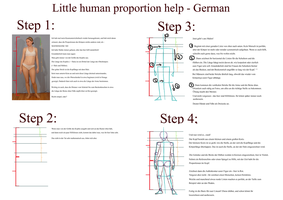 Human Proportion Tutorial - German by SweetLittleVampire