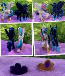 Princess Celestia and Luna custom commissions by DjPon33