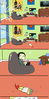 Loki's Room Part 3 by blargberries