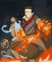 Legend of Korra by NeoRuki