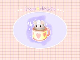 Hot chococolate chinchilla by mandichan