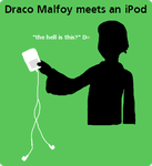 Draco Malfoy Meets an iPod by Thorn-In-My-Side