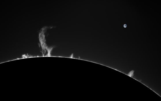 Prominence by GreatAttractor