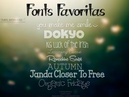 Fonts Favoritas || RadiantDay by RadiantDay