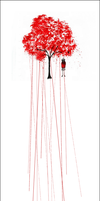 +Red Maple (The hanging girl)+ by Rebrosh