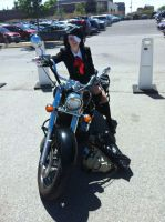 Anime north Bike by photographydollface