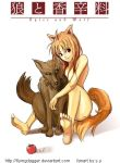 Spice and Wolf - Holo by Flyingdagger