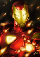 Iron Man 'Extremis' by HunDrenus