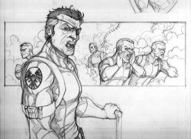 Comic page Preview by NationalGeo