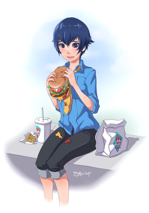Lunch Time! by ItsJustSuppi