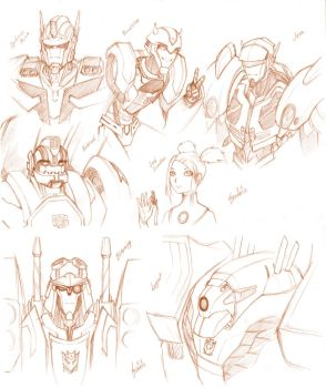 TFA - Touch Up Sketches by pika