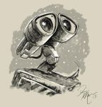 Wall-e warm-up sketch by Dominic-Marco