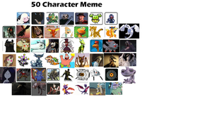 50 character meme by Me-MowTheCat