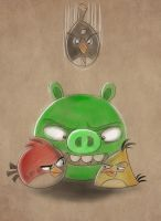 Angry Birds by wabea