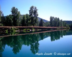 Blue Idaho by AngelaLeonetti