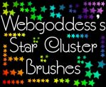 Star Cluster Brushes by webgoddess