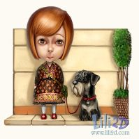 Me and my buddy by d-liliane