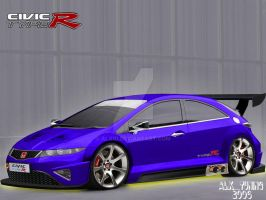 Honda Civic Type R 2006 by ALX10
