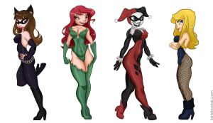 Femme Fatales by ParadoxParade